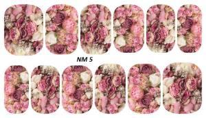 Слайдер для дизайна ногтей водный NM5