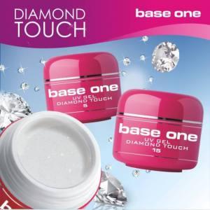 Прозрачный гель с микроблестками на розлив Silcare Diamond Touch