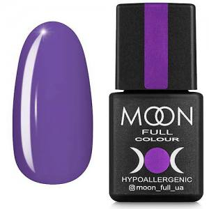 Гель-лак MOON FULL color Gel polish №160 (светлая лаванда, эмаль), 8 мл