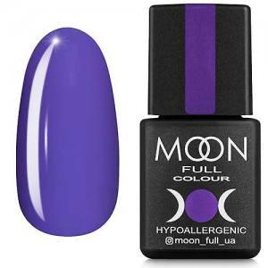 Гель-лак MOON FULL color Gel polish №161 (лавандовый, эмаль), 8 мл