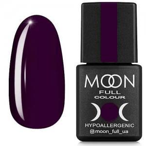Гель-лак MOON FULL color Gel polish №168 (темно-сливовый, эмаль), 8 мл