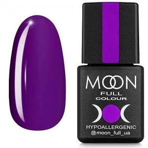 Гель-лак MOON FULL color Gel polish №169 (фиолетовый, эмаль), 8 мл
