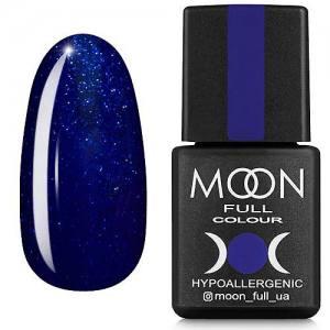 Гель-лак MOON FULL color Gel polish №174 (сапфир, микроблеск), 8 мл