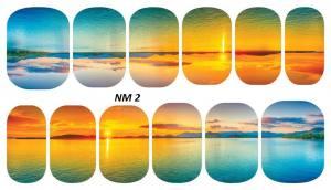 Слайдер для дизайна ногтей водный NM2